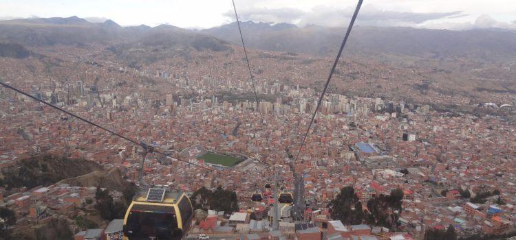 La Paz – die Stadt im Himmel