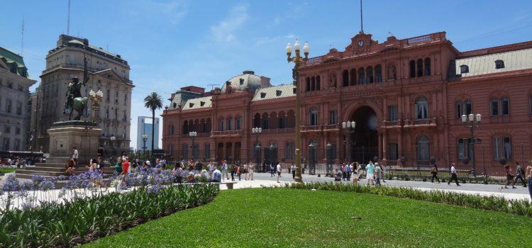 Eine ereignisreiche Woche in Buenos Aires