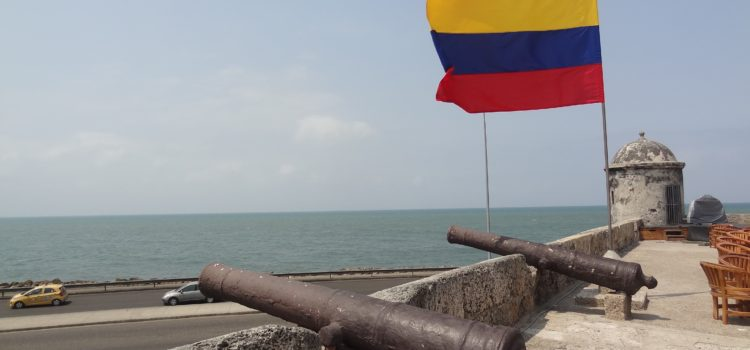 An der Karibikküste Kolumbiens